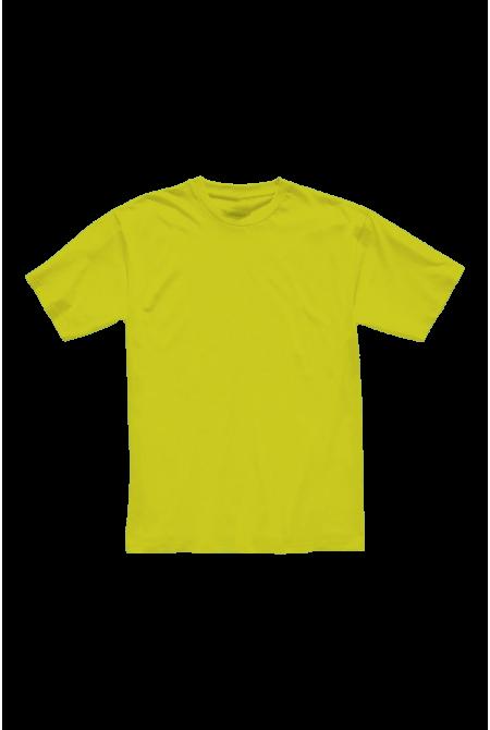 Футболка мужская жёлтая