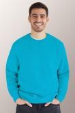 Голубой свитшот мужской 1 (миниатюра)