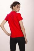 Поло женское красное 4 (миниатюра)
