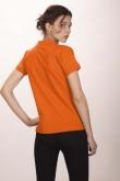 Поло женское оранжевое 4 (миниатюра)