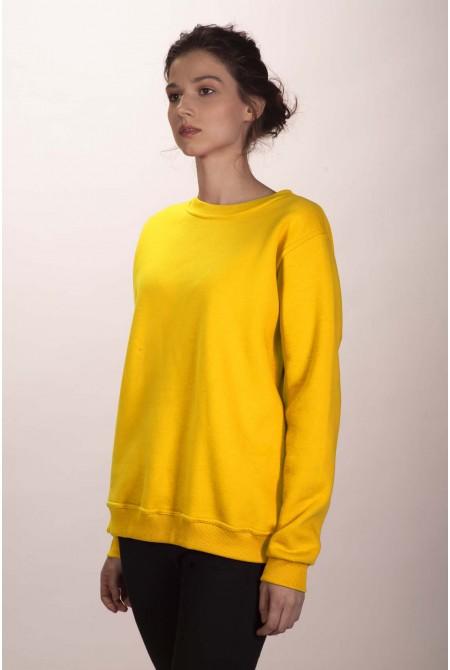 Жёлтый свитшот