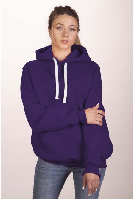 Фиолетовая толстовка