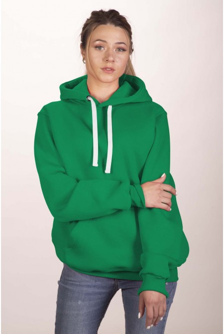 Зелёная толстовка