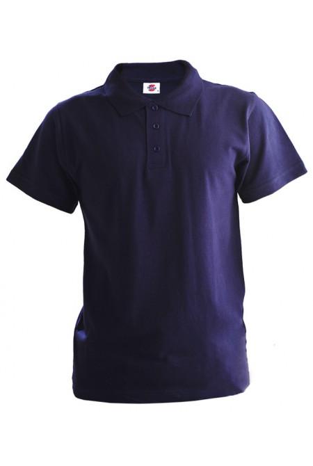 Поло мужское пурпурное