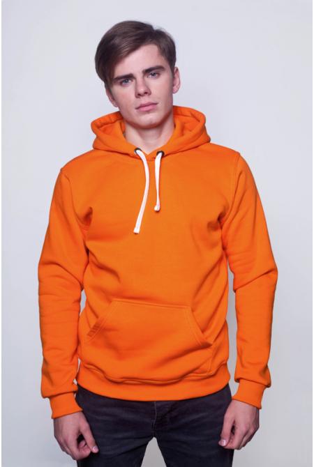 Оранжевая мужская толстовка