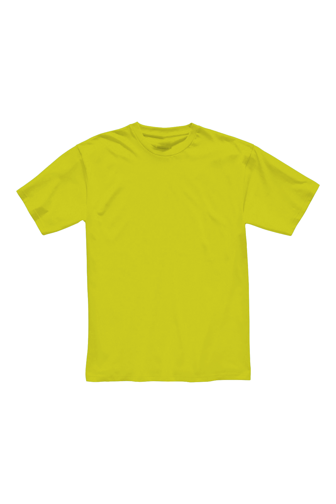 Футболка мужская жёлтая 1