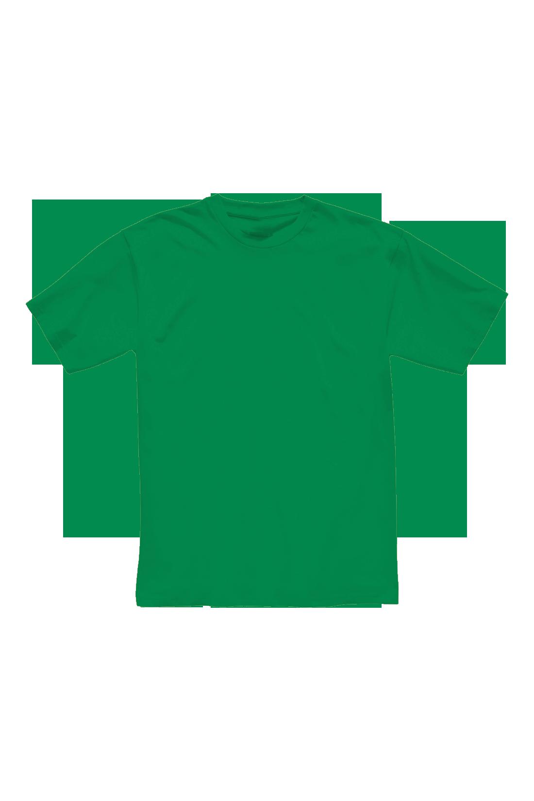 Футболка мужская зелёная 1