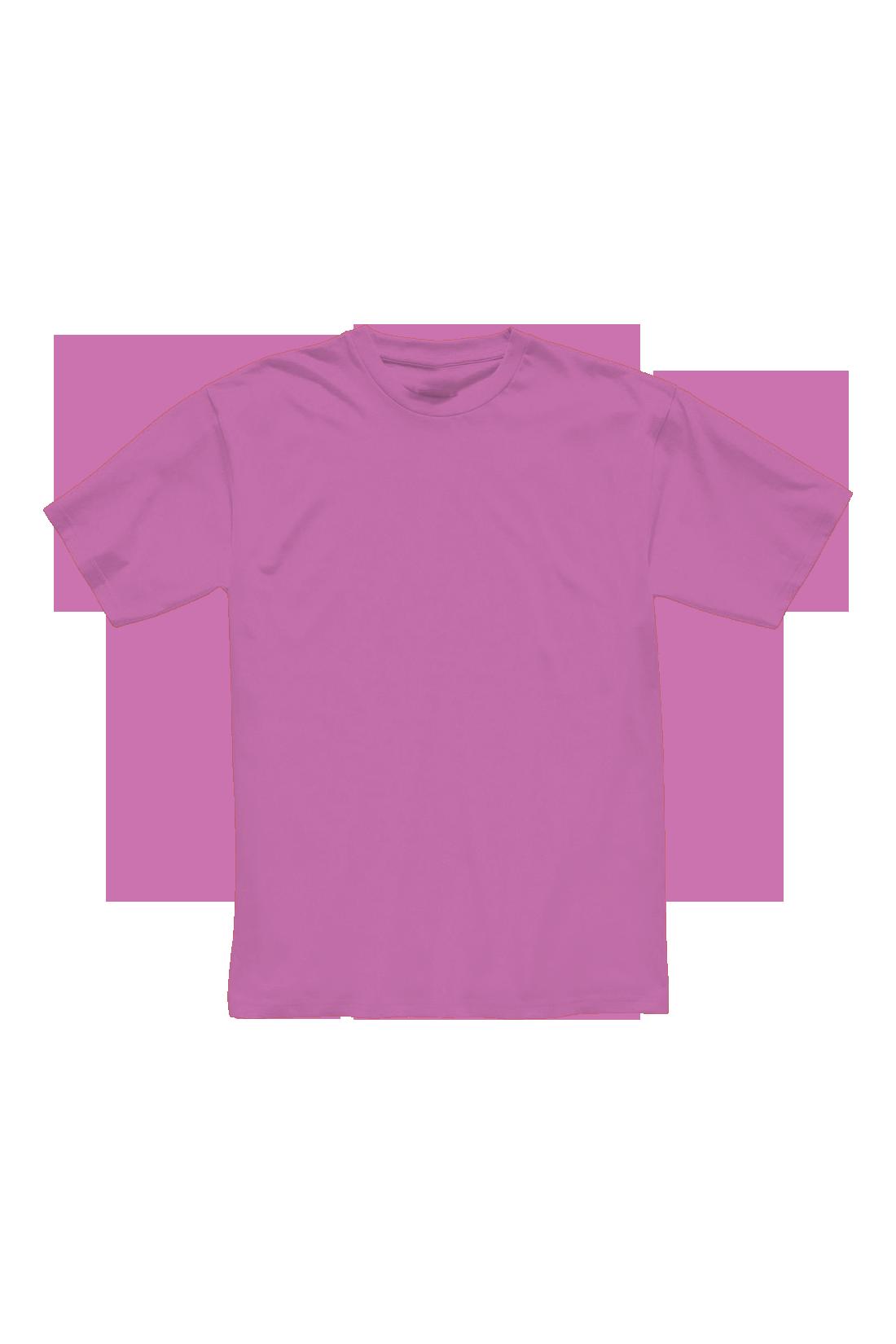 Футболка мужская розовая
