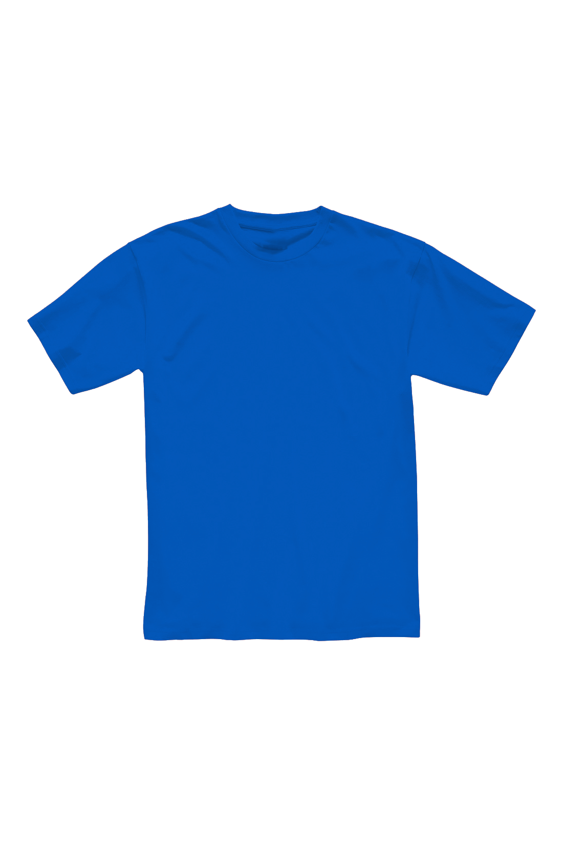Футболка мужская синяя 1