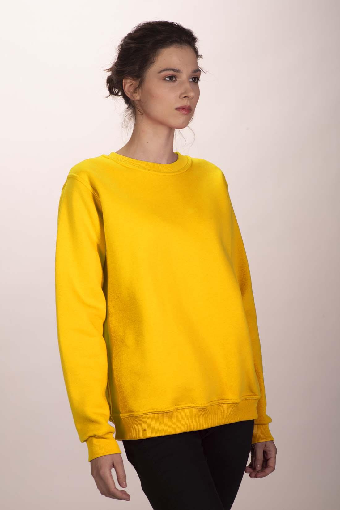 Жёлтый свитшот 1