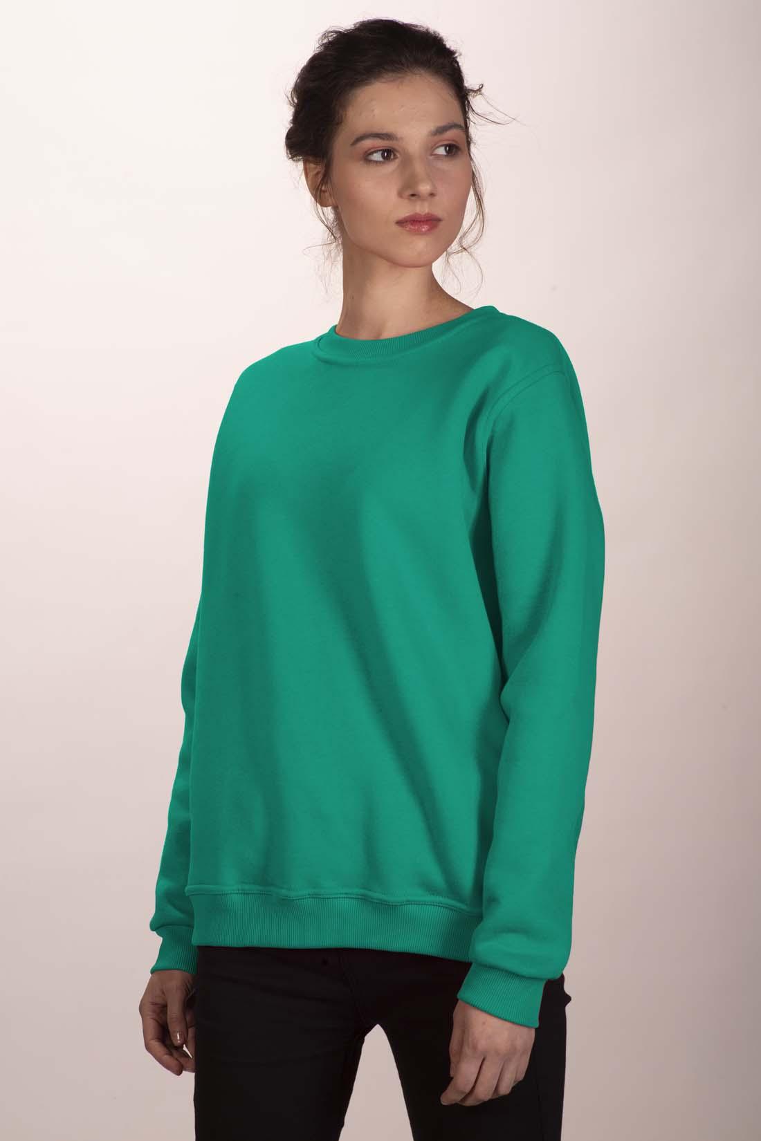 Зелёный свитшот 1