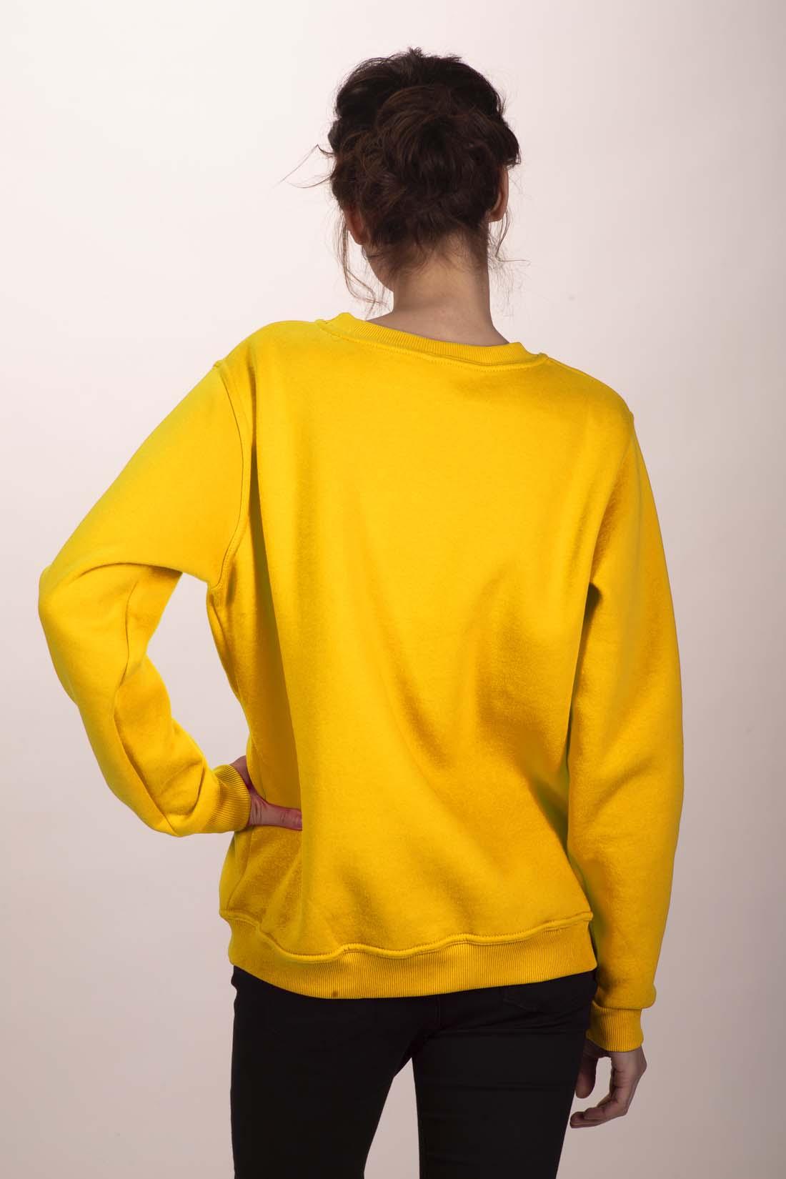 Жёлтый свитшот 3