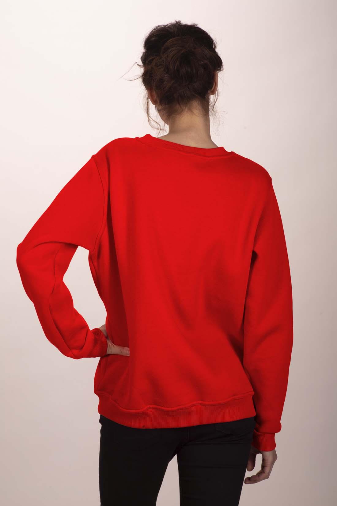 Красный свитшот 3