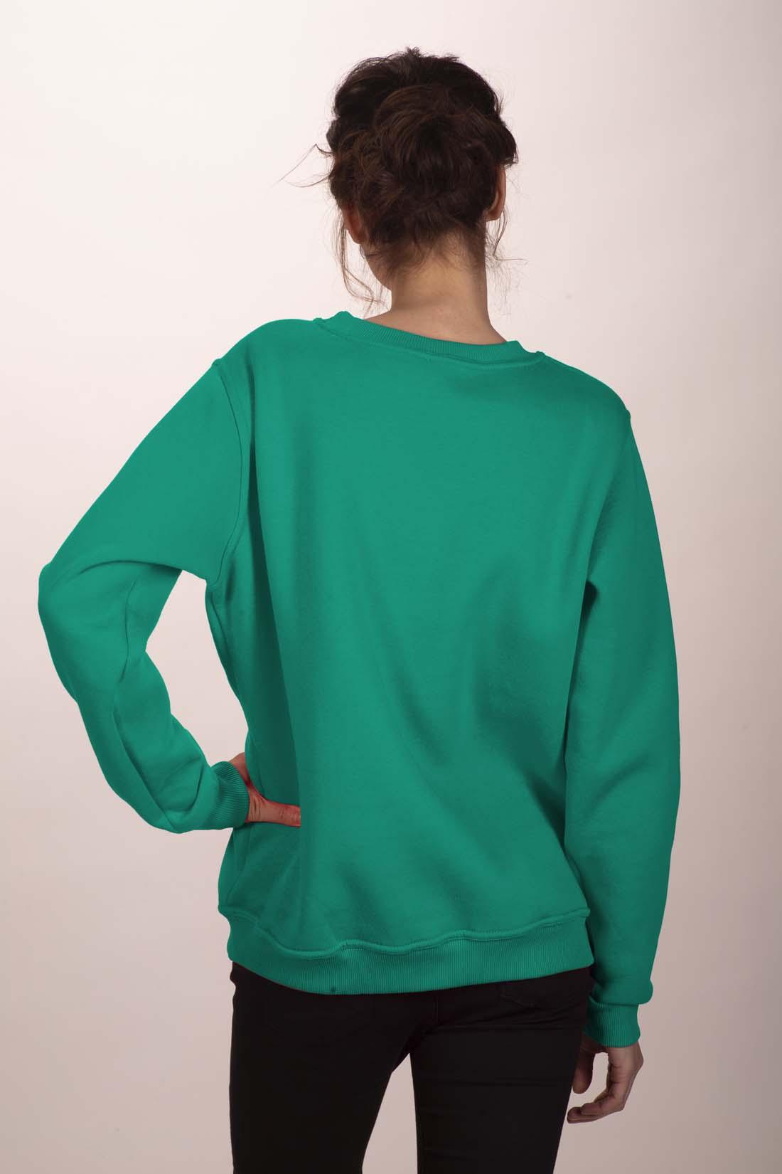 Зелёный свитшот 3