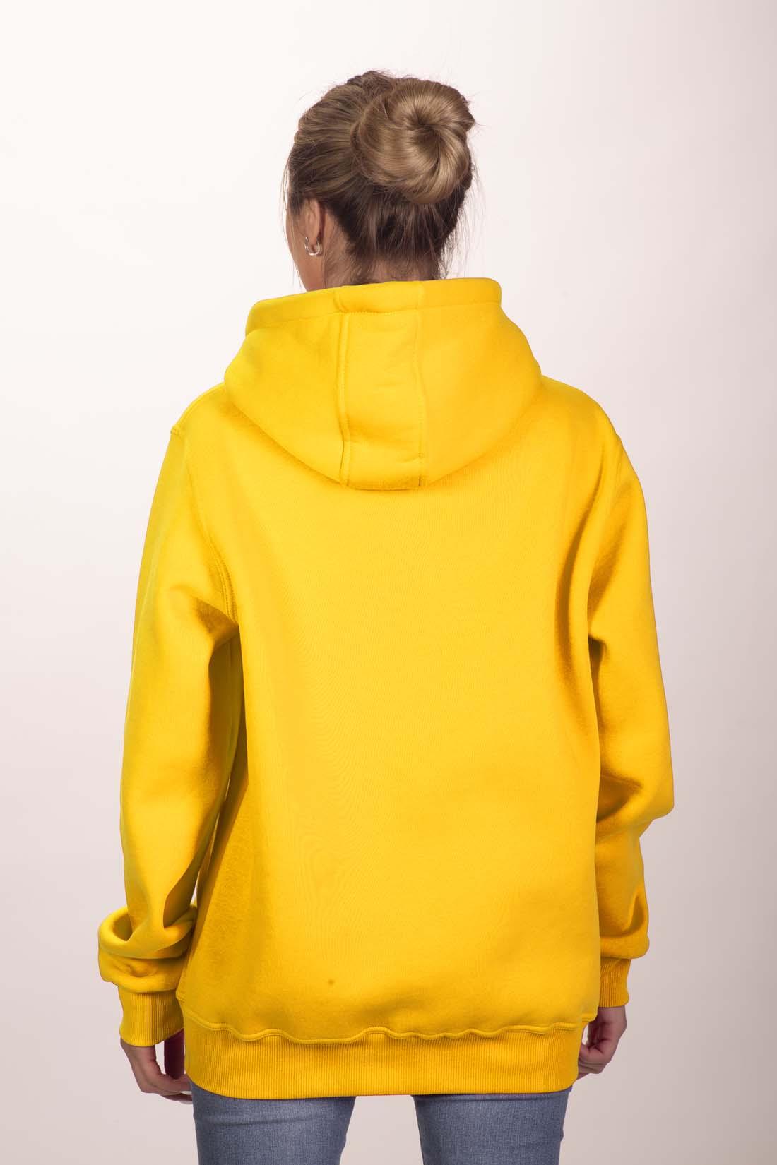 Жёлтая толстовка 2