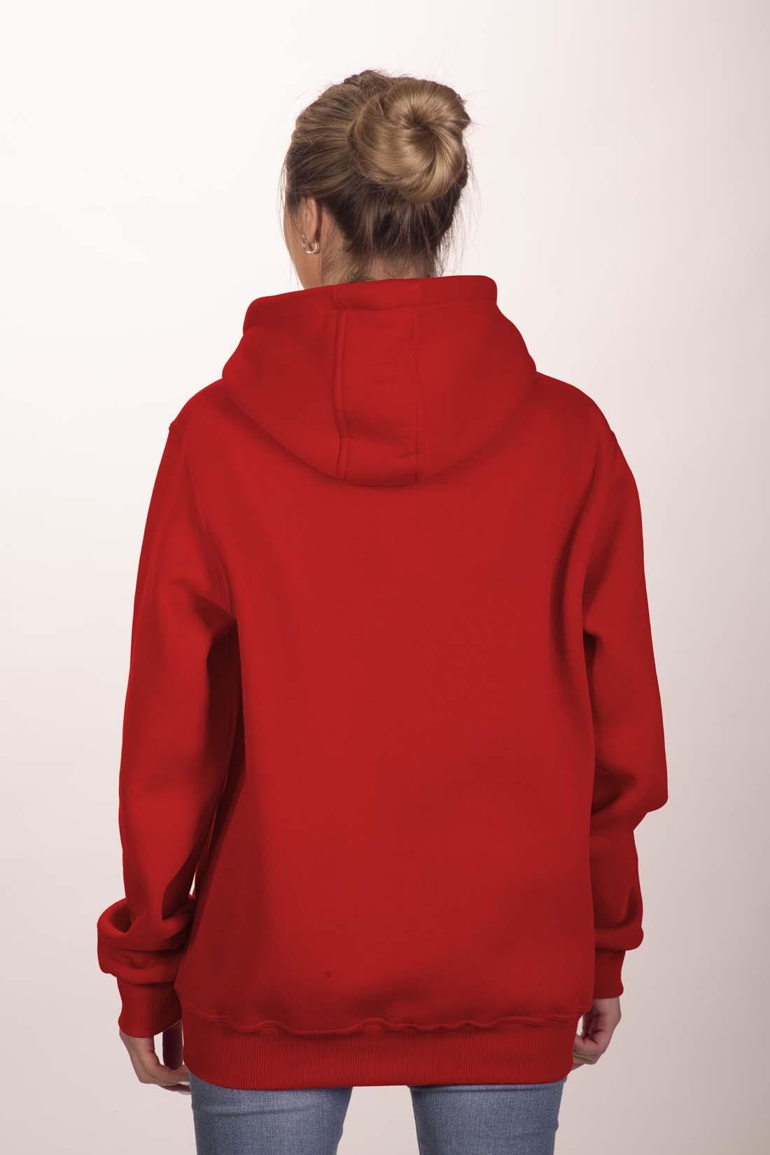Красная толстовка 2
