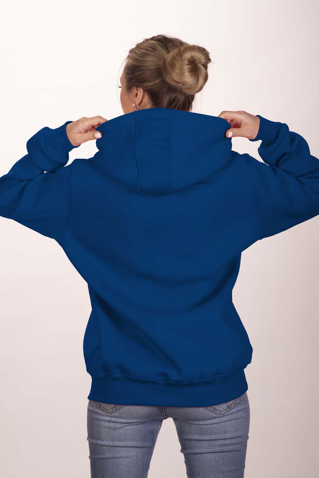 Синяя толстовка 3