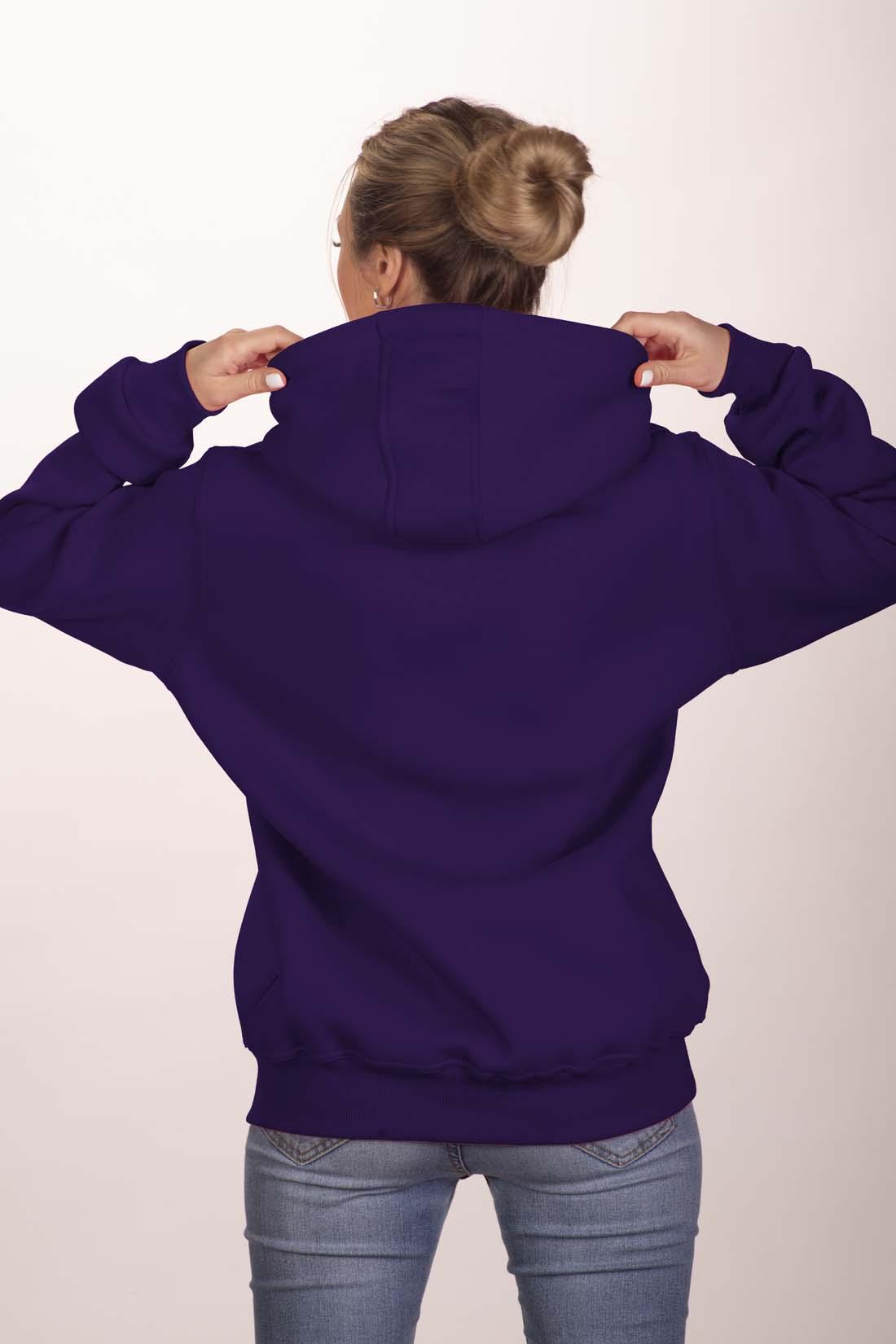 Фиолетовая толстовка 3