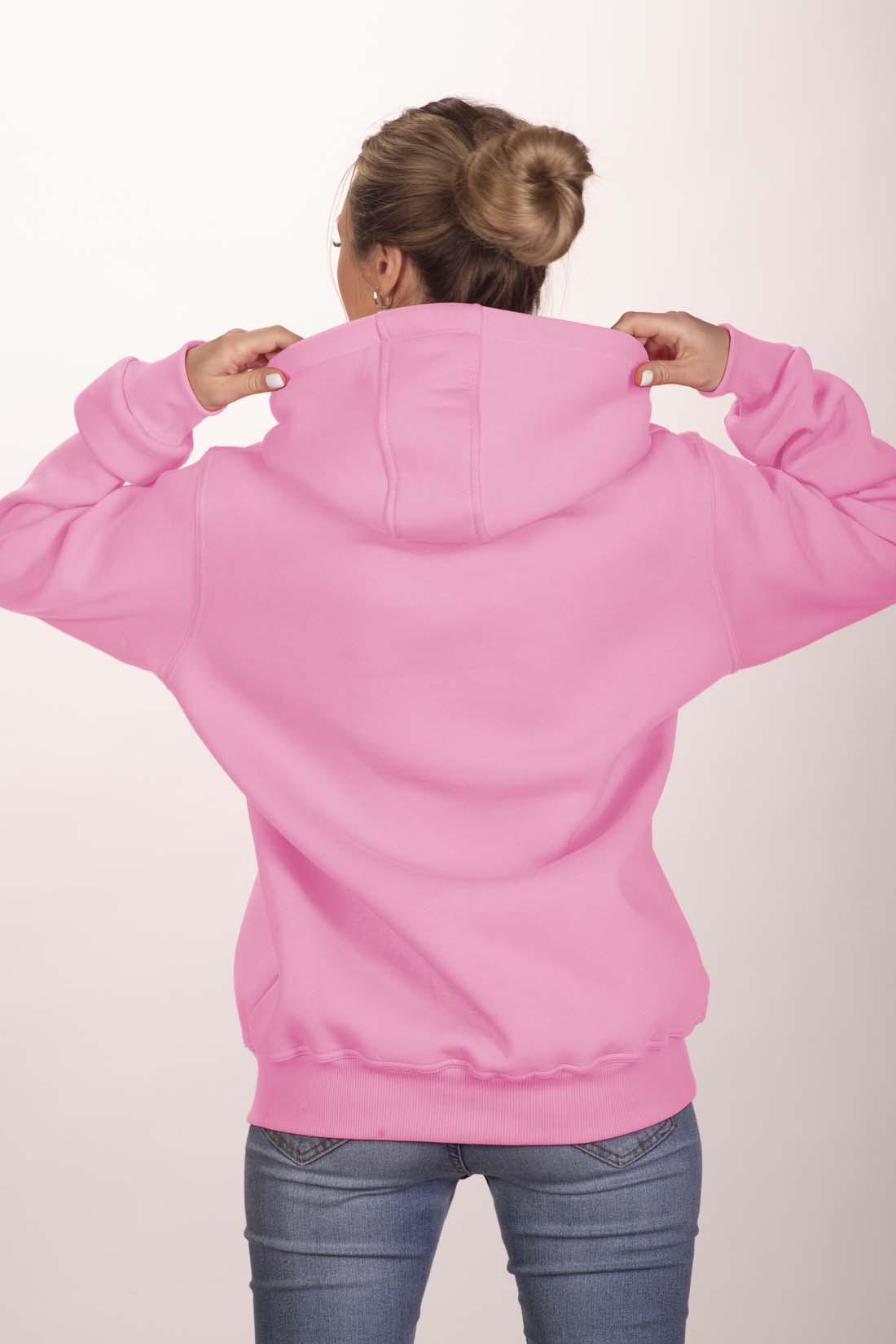 Розовая толстовка 3