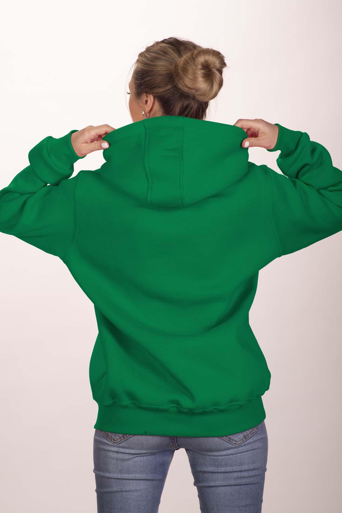 Зелёная толстовка 3