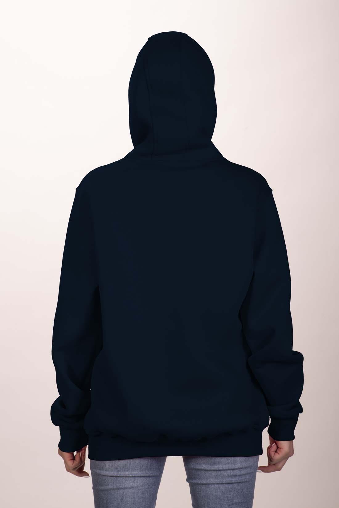 Тёмно - Синяя толстовка 4