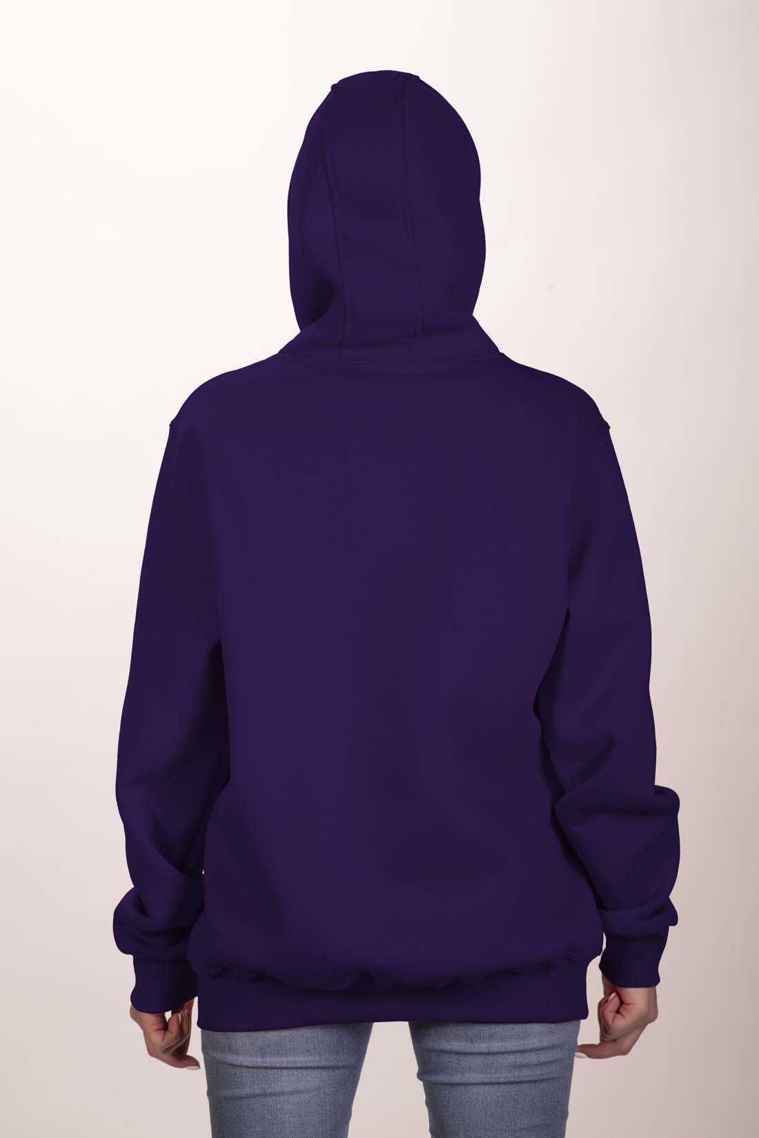 Фиолетовая толстовка 4