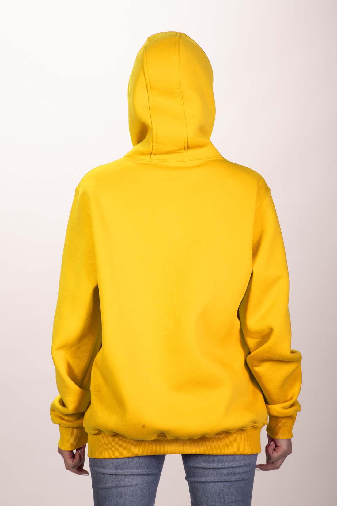 Жёлтая толстовка 4