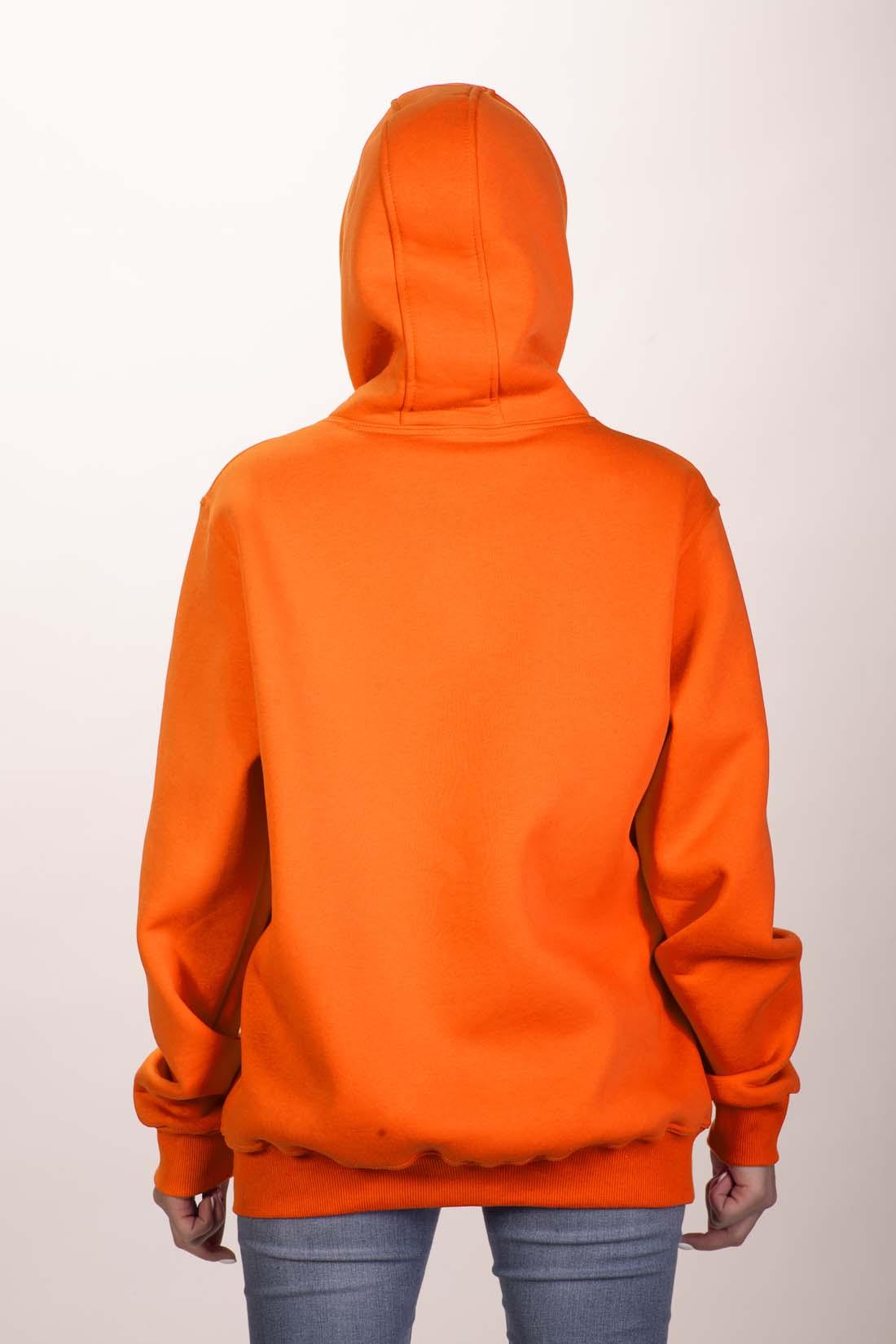Оранжевая толстовка 4