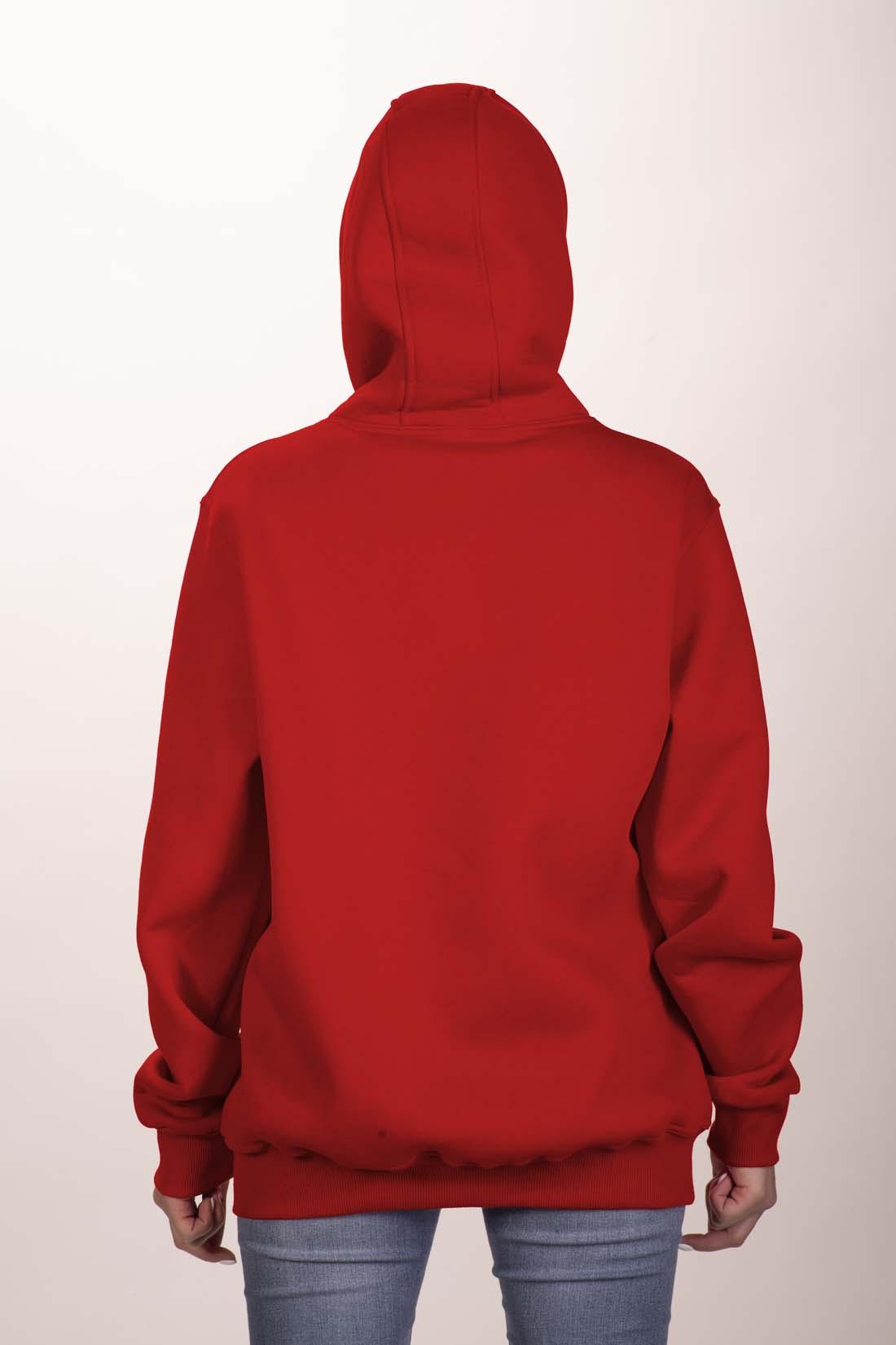 Красная толстовка 4