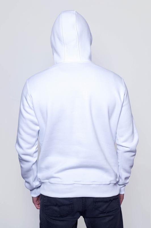 Белая мужская толстовка 2