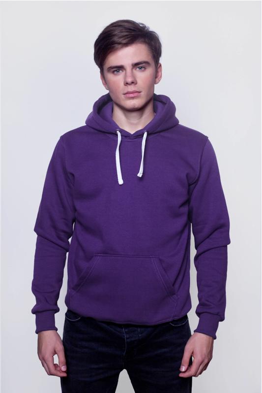 Фиолетовая мужская толстовка 1