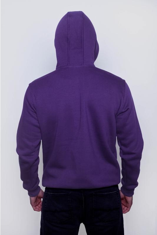 Фиолетовая мужская толстовка 2