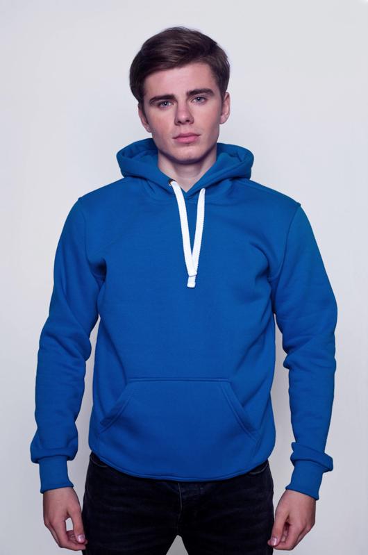Синяя мужская толстовка 1