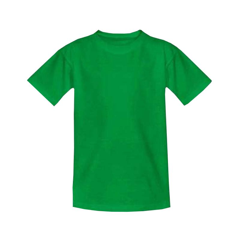 Футболка детская зелёная 1