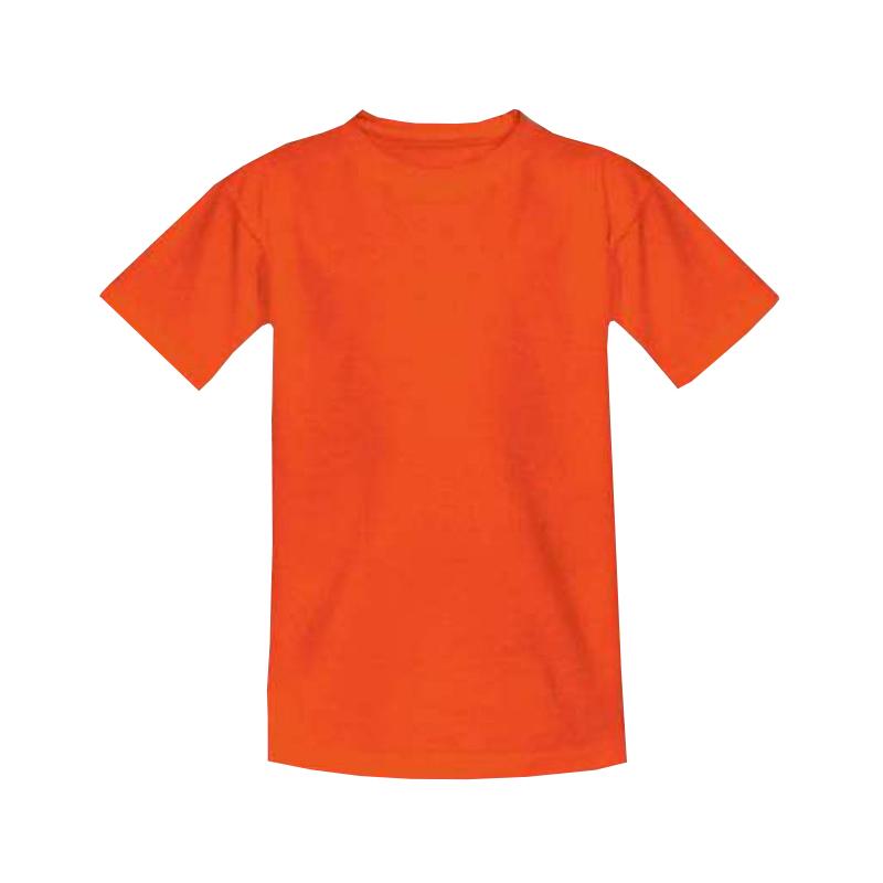 Футболка детская оранжевая 1