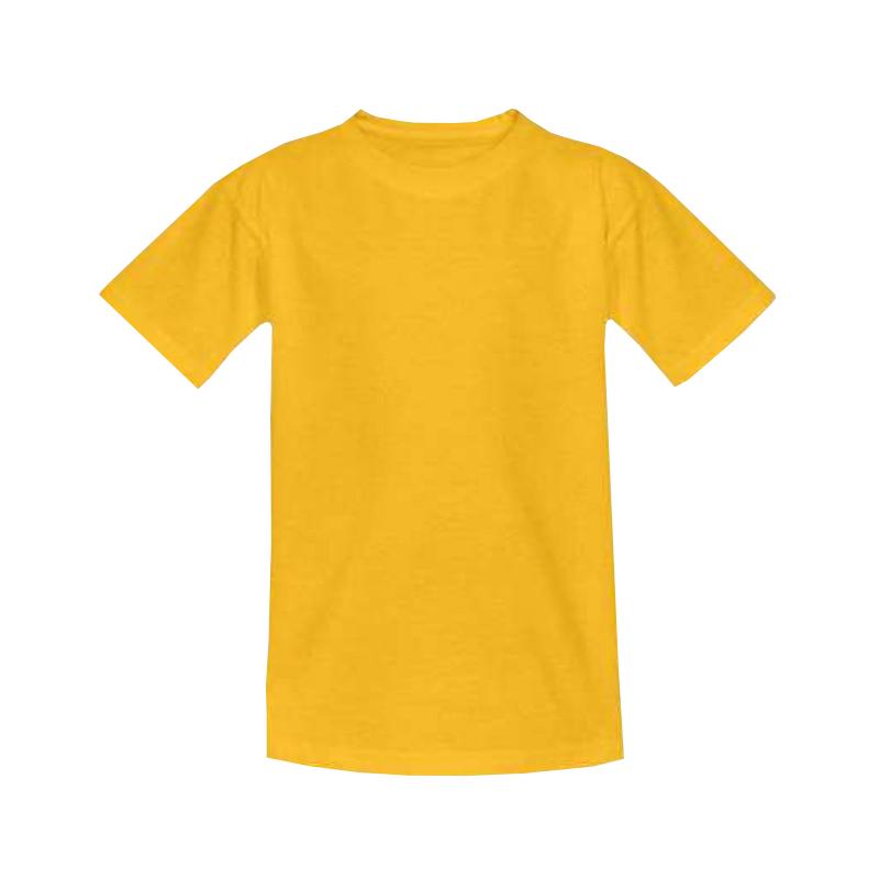Футболка детская желтая 1
